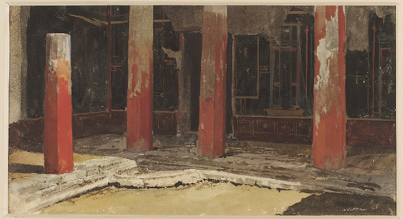 1280px-Corner_of_the_peristyle_of_the_women's_apartments_in_the_House_of_Sallust,_Pompeii,_wat...jpg