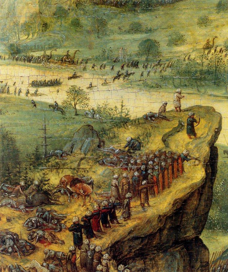 1562-Pieter-Bruegel-the-Elder-The-Suicide-of-Saul-Detail-soldiers-on-the-headland.jpg