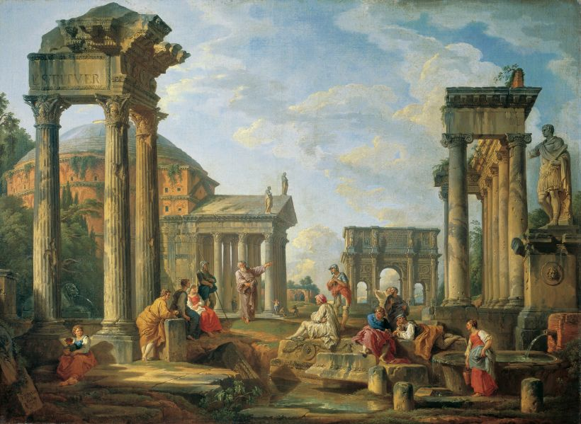 1751_Giovanni_Paolo_Pannini_Roman ruins with a prophet.jpg