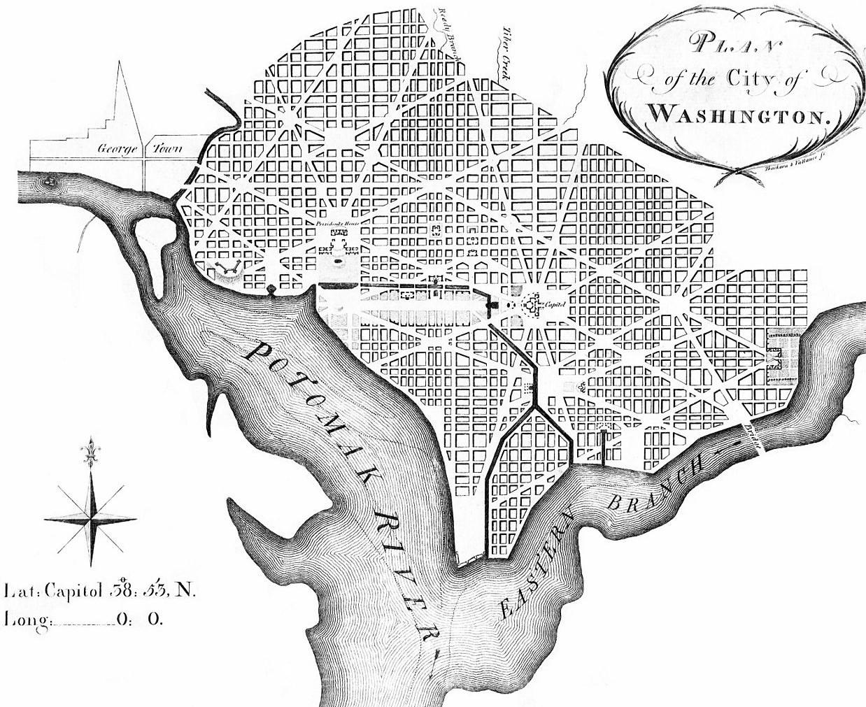 Andrew Ellicott's revision of L'Enfant's 1791 plan.jpg