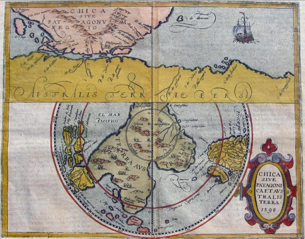 Chica sive Patagonica et Australis Terra 1598.jpg