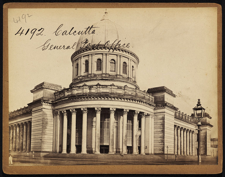 General Post Office - Calcutta (Kolkata) - Mid 19th Century (Second View).jpg