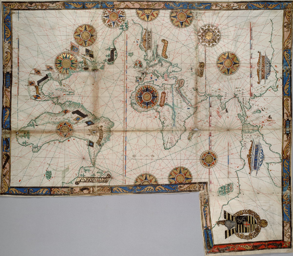 Guillaume_Brouscon._World_chart,_which_includes_America_and_a_large_Terra_Java_(Australia)._HM...jpg
