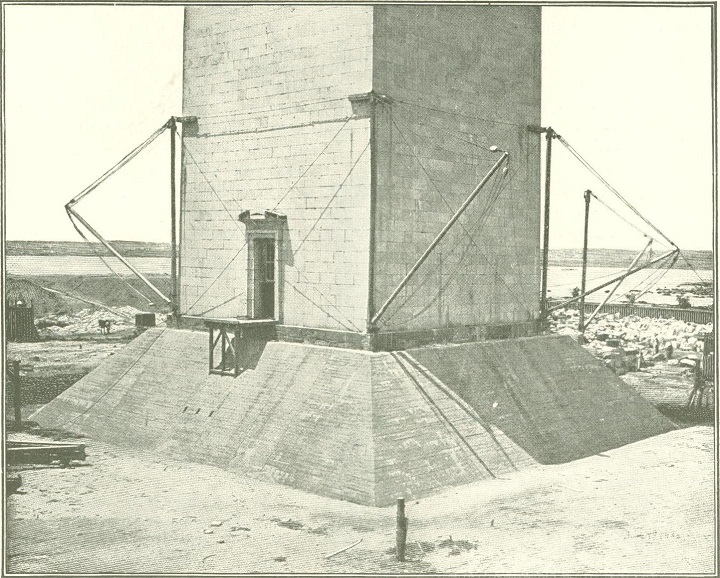 New cement foundation for Washington Monument_1.jpg