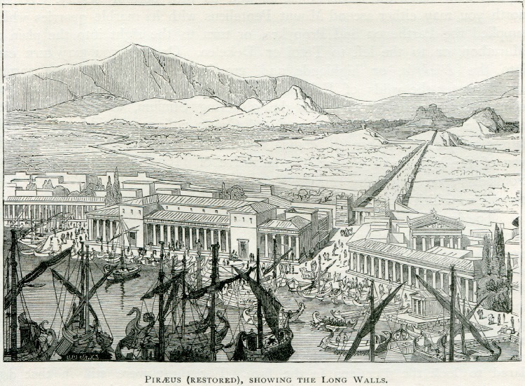 Piraeus_(restored),_showing_the_Long_Wall_-_Mahaffy_John_Pentland_-_1890.jpg