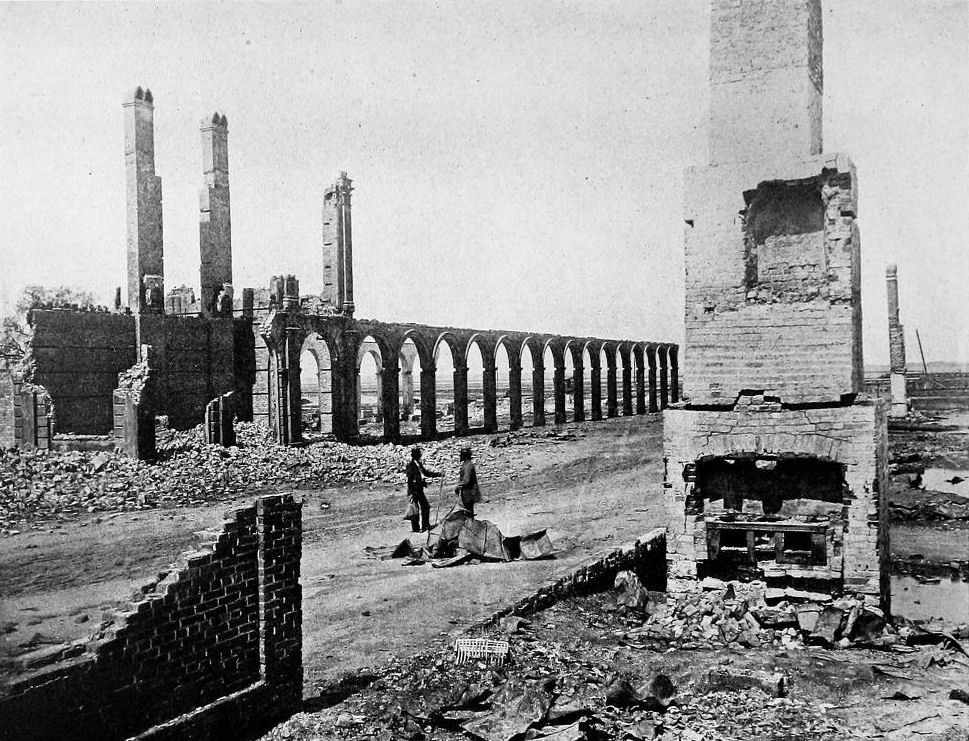 The Charleston Railroad Depot. Destroyed by explosion in 1854..jpg
