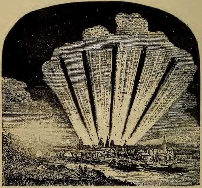 The six-tailed comet of 1744, in Richard Anthony Proctor's book Flowers of the Sky..jpg