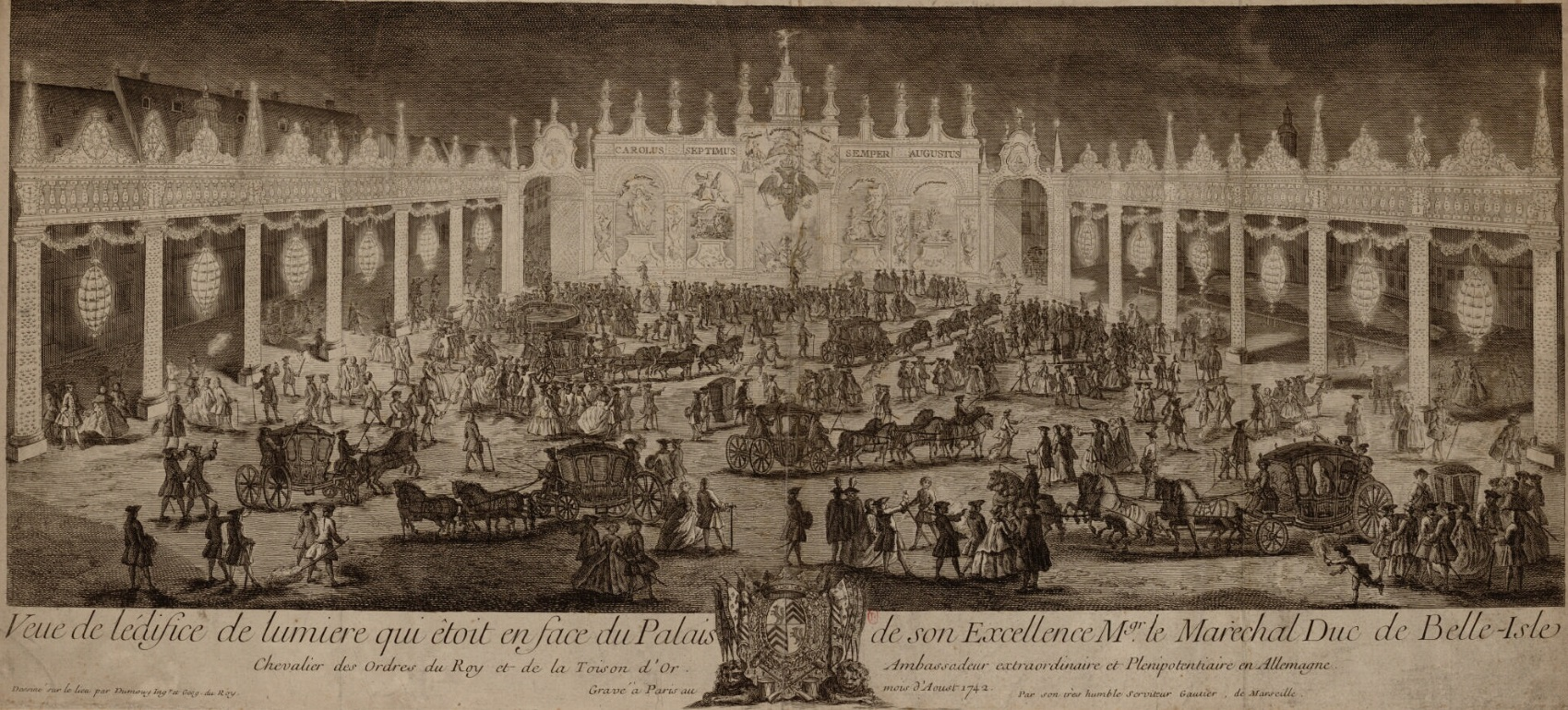 Vue de l'édifice de lumière qui était en face du palais de son Excellence Monseigneur le ma...jpg