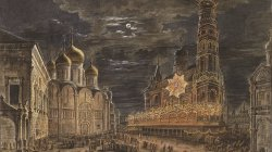 Moscow Illumination in 1801