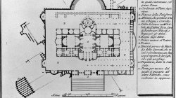 Plan of the Baths of Titus