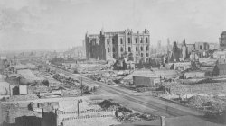 View of Chicago after the Great Fire of 1871