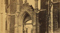 1871 Ruins of Chicago. Unity Church
