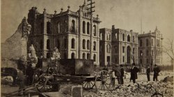 Chicago Fire of 1871: Court House