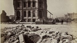 Chicago Fire of 1871: First National Bank